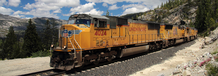Union Pacific #4024 Z-Train at Yuba Pass